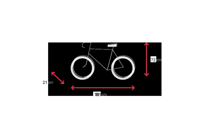 equipaje bicicleta