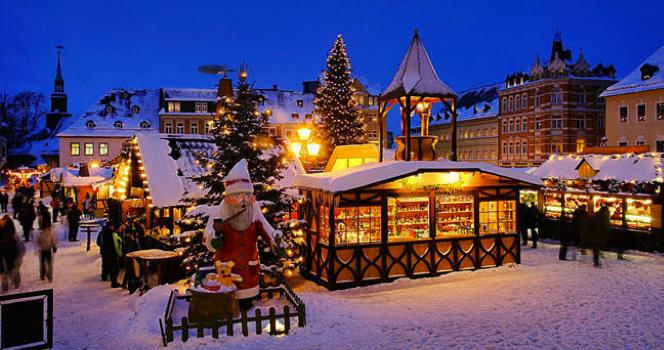 Mercadillos navideños en Estocolmo