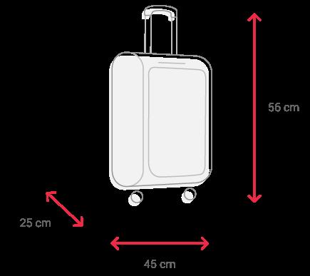 medidas equipaje de mano