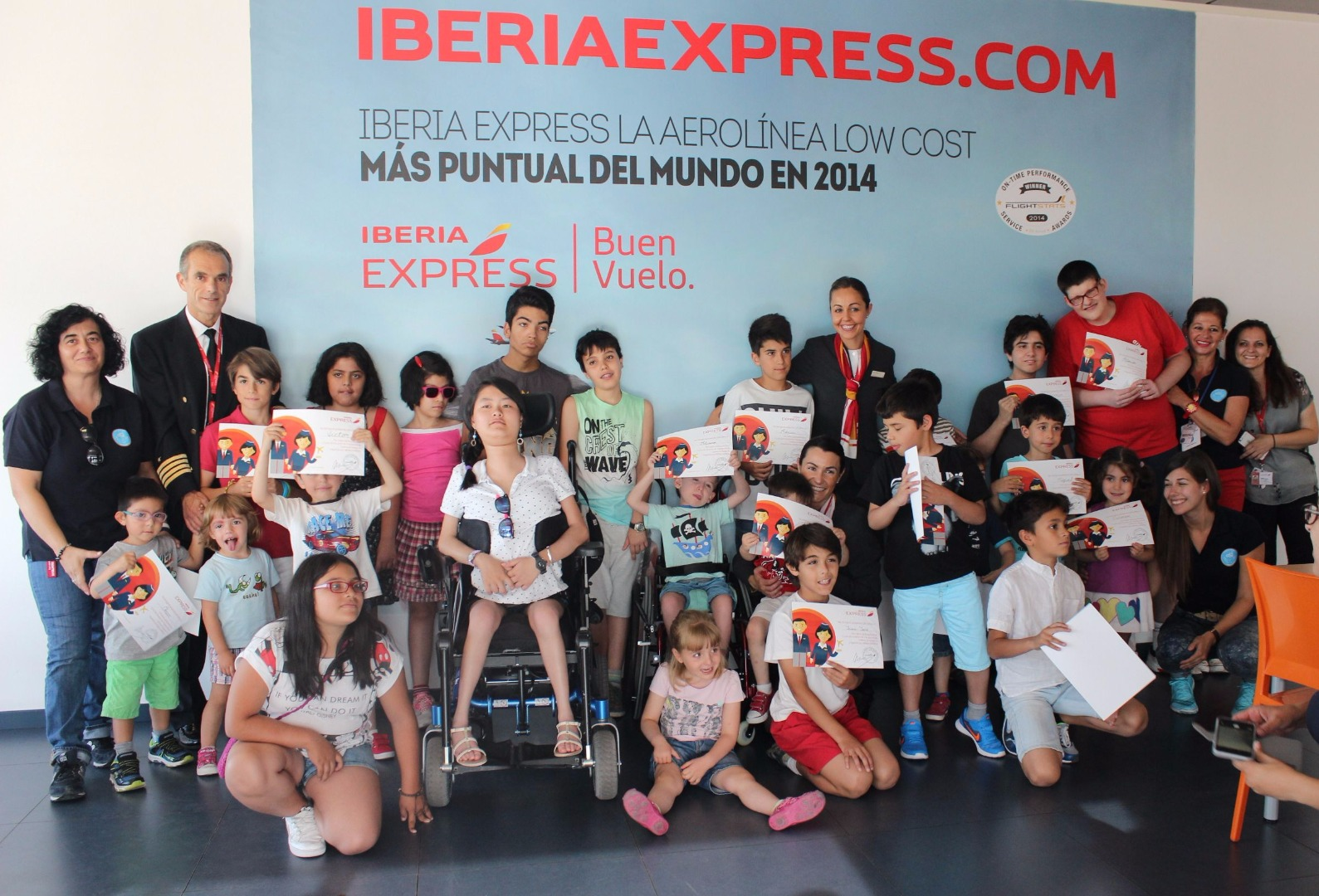 responsabilità sociale d'impresa di Iberia Express.