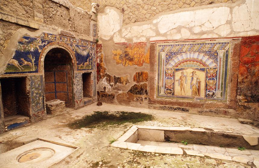 guías de viaje Pompeya
