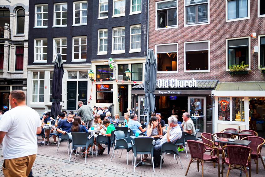 Amsterdam de fiesta