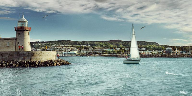 Ciudades y pubelos costeros en Dublín